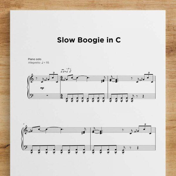 Slow Boogie in C