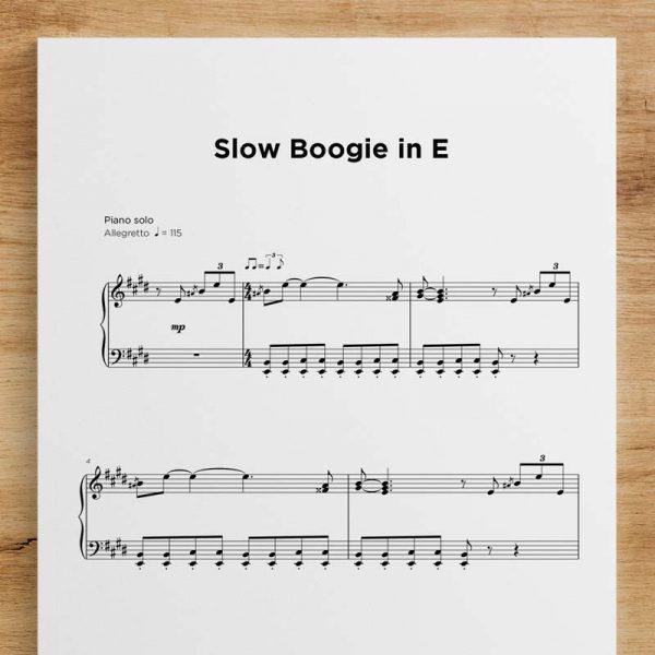 Slow Boogie in E
