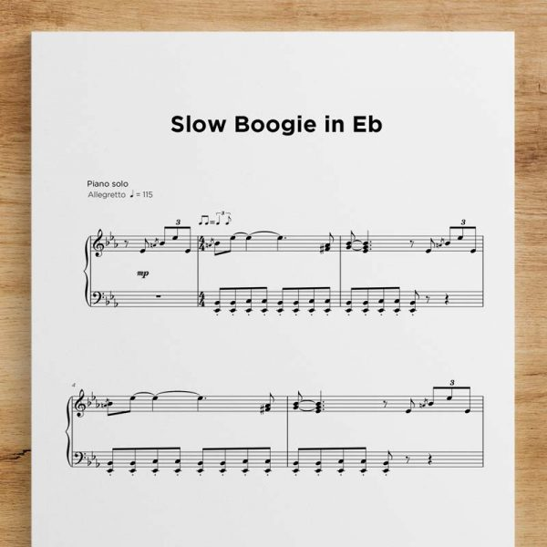Slow Boogie in Eb