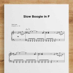 Slow Boogie in F